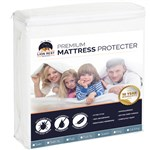 Lion Rest Queen Size Fitted Mattress Protector