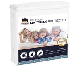 Protect A Bed King Size Mattress Protectors  lion rest fitted mattress protector king size
