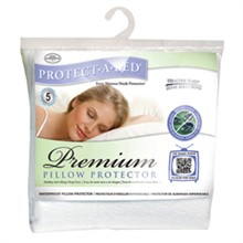 Shop by Mattress Height protect a bed premium pillow protector
