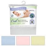 Protect-A-Bed Premium Crib Mattress Protector White Premium Crib Mattr