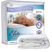 Protect A Bed Twin Size Water Proof Mattress Protectors  protect a bed elite mattress protector twin
