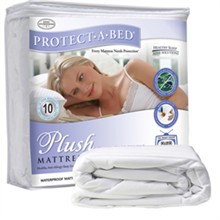 Protect A Bed Twin Size Water Proof Mattress Protectors  protect a bed plush mattress protector twin