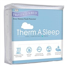 Protect A Bed Full Size Therm A Sleep Mattress Protectors  protect a bed therma mattress protector