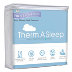 Protect-A-Bed Therm Mattress Protector Queen Therm Tencel Mattress Pro