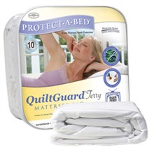 Protect A Bed Twin Size Water Proof Mattress Protectors  protect a bed quilt terry mattress protector