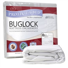 Protect A Bed California King Size Bed Bug Proof / Bug Lock Mattress Protectors  BugLock Mattress Encasement