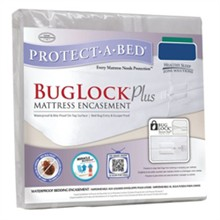 Protect A Bed 9 Inch Inch Deep Mattress Protectors  BugLock Plus Mattress Encasement