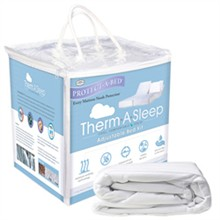 Protect A Bed Queen Size Therm A Sleep Mattress Protectors  protect a bed therma adjustable bed kit queen