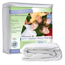 Protect A Bed Potty Training Mattress Protectors  Potty Training Kit