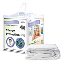 Protect A Bed Twin XL Size Allergy Proof / Allerzip protect a bed allergy protection kit twinxl