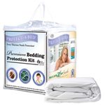 Protect-A-Bed Premium Protection Kit King Premium Bedding Protection K
